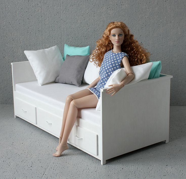 MINIMAGINE * furniture for dolls: daybed 420-03