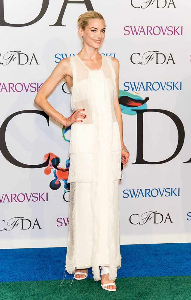 Jamie King in Calvin Klein at the CFDA Awards 2014.