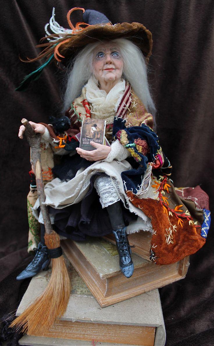 Magic Book Shop Witch