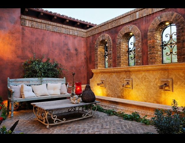 Beautiful old style mediterranean outdoor patio decorating ideas for the old style patio ideas