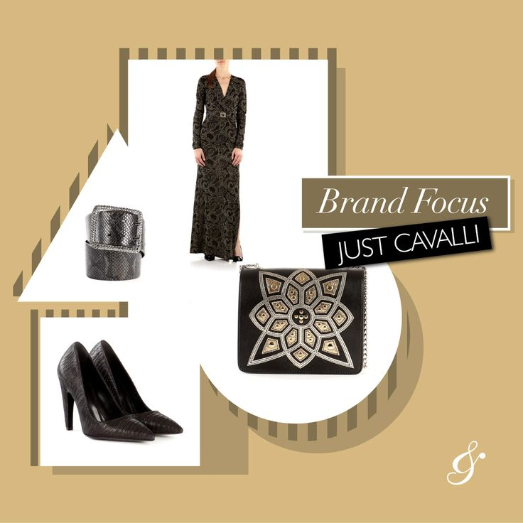 The unique style of JUST CAVALLI! Find out your favourite pieces here >> http://bit.ly/2liWOmT FAll winter 2017 #fashion #style #shopping #minibag