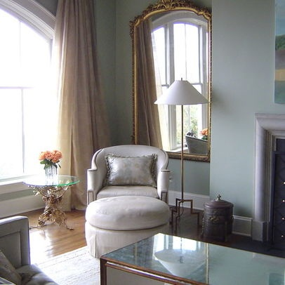 Blue And Gold Living Room Design, Pictures, Remodel, Decor and Ideas - Houzz