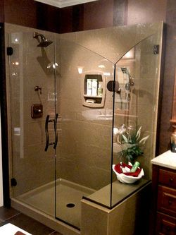 Solid Surface Bathroom And Shower Remodeling Columbus Ohio Shower Power Pinterest Solid