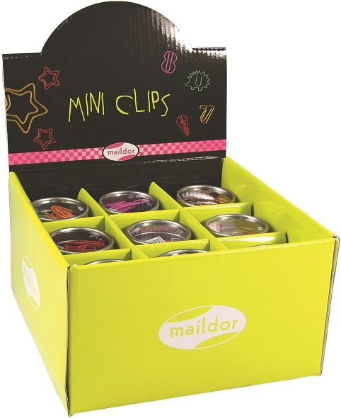 Maildor Paper Clips display