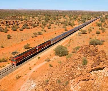 World's Most Scenic Train Rides The Ghan, Australia