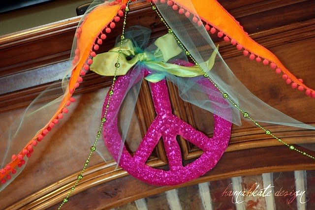 Peace sign party