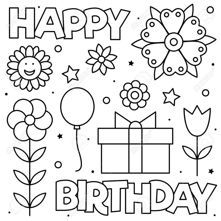Coloring Pages For Moms Cute Day Birthdays Colouring ...