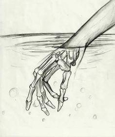 Resultado de imagen para mano esqueleto dibujo pinterest