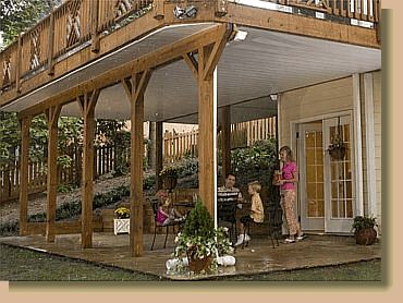 HOT TUB UNDER DECK | ... easiest way to create a great outdoor space under your raised deck