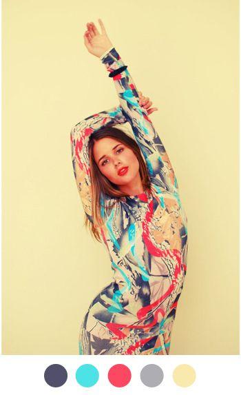 Dress: Ksubi, stylist: Lisa Ruffle, model: Sara Donaldson, photographer: Rachel Yabsley, via color collective