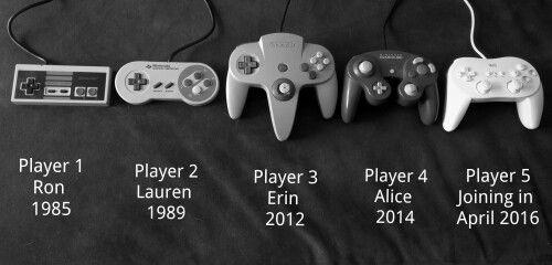Video game pregnancy announcement