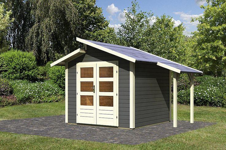 Gartenhaus »Grönelo Set mit Schleppdach (BxT: 244 x 244 cm)« für 1.649,99€. Gartenhaus »Grönelo mit Schleppdach« Set, BxT: 244 x 244 cm bei OTTO