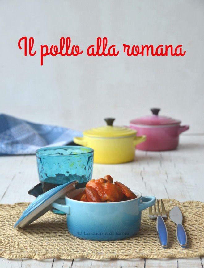 La cucina di Esme: Il pollo alla romana con i peperoni