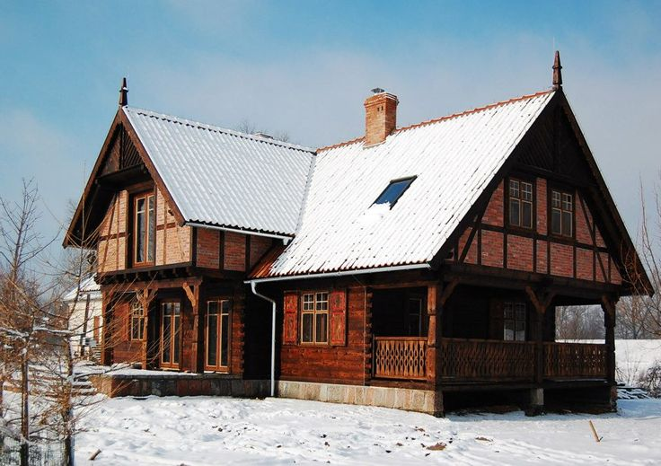 29 best images about polish traditional country homes on pinterest architecture pay attention - Traditional polish houses wood mastership ...