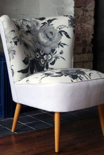 McCarthy Chair - 1940's Restored Cocktail Chair