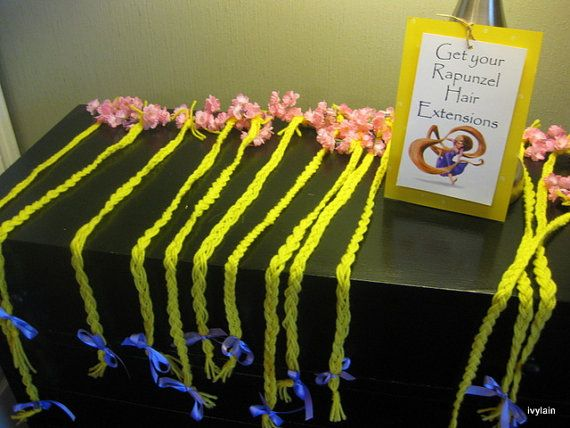 Rapunzel Hair Extension by ivylain on Etsy, $12.00