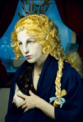 Cindy Sherman Untitled #225 1990 The Broad Art Foundation, Santa Monica © Cindy Sherman Cf : Vierge Melun de Jean Fouquet