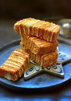 the perfect cream for honey-cake