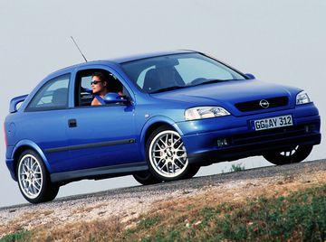 Opel Astra OPC (G) '1999–2001