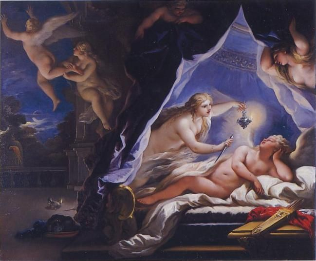 Luca Giordano, Psyche Is Exposed on a Rock, c. 1695-1697