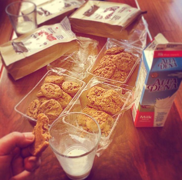 Daniel's Vegan Protien Cookies.