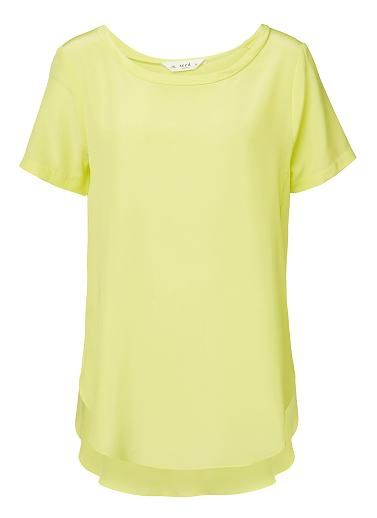 Womens Tops Tees & Shirts | Basic Silk Top | Seed Heritage $59.95