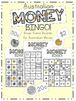 Australian Money Bingo More