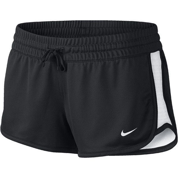 Nike Gym Reversible Shorts Black ($25) ❤ liked on Polyvore featuring shorts, bottoms, nike and pants