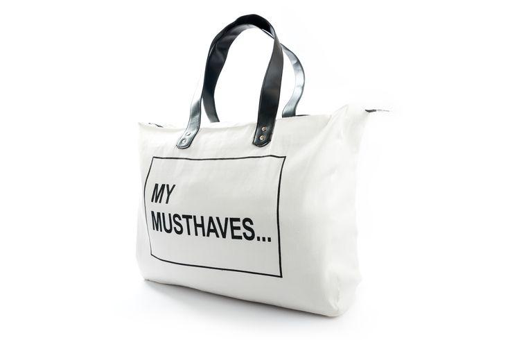 Shopper XL My Musthaves.... www.toefwonen.nl/a-39724419/cpcollections/shopper-xl-my-musthaves