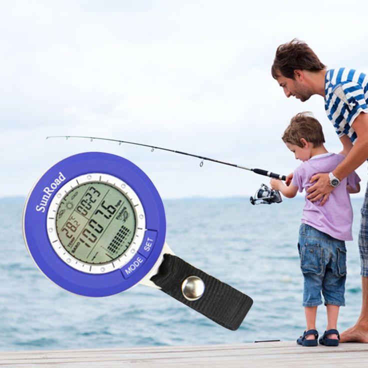 Baromètre de pêche Multi-fonction LCD Numérique En Plein Air De Pêche Baromètre Altimètre Thermomètre Livraison gratuite
