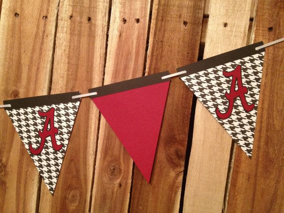 Chic University of Alabama ROLL TIDE Party Banner by SuttonandCo