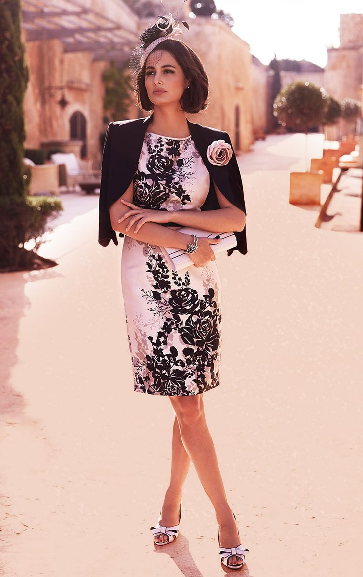 mother of the bride floral jackets - Google Search