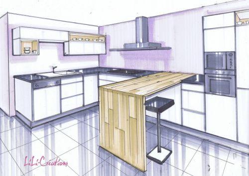 donner un c t sympa une cuisine simple archithecte pinterest cuisine simple sympa et. Black Bedroom Furniture Sets. Home Design Ideas