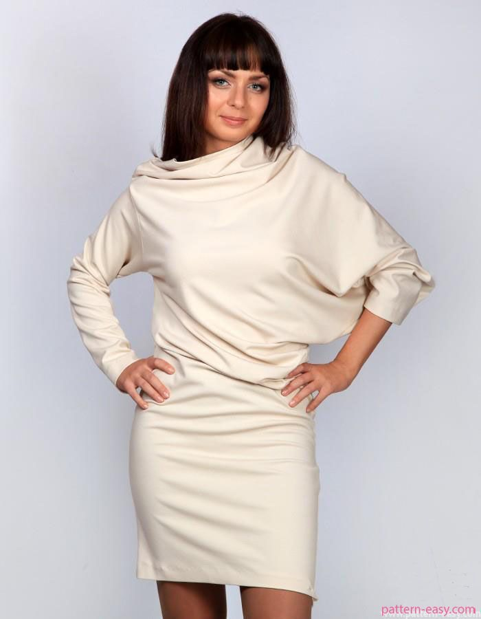 Женские платья костюмы с фото и выкройками