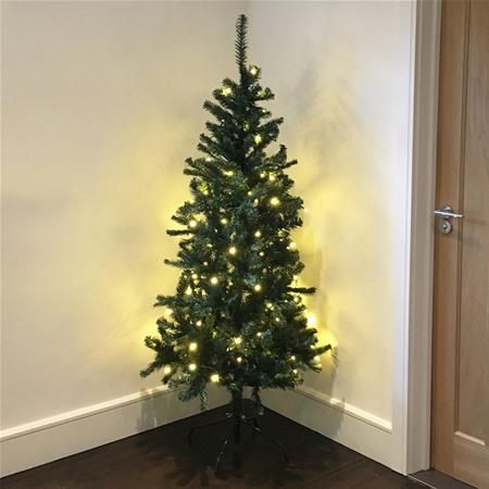 Gardman Alberta Slim 6ft Artificial Christmas Tree