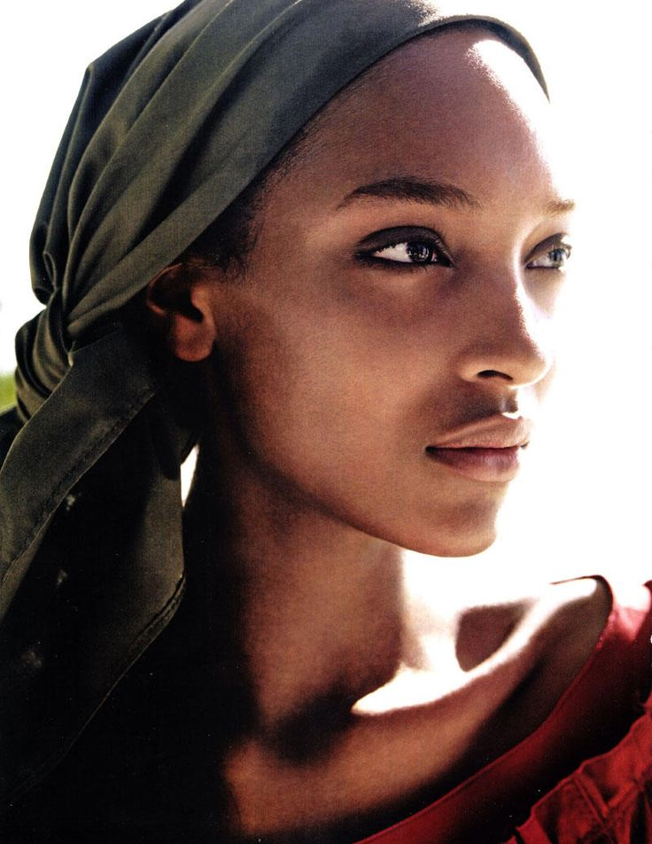 Amazing skin colour and natural beauty