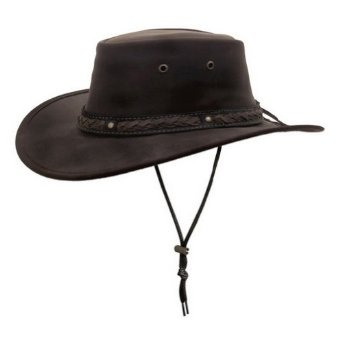 Barmah Hats Squashy Bronco T2 Leather Hat 1022CD