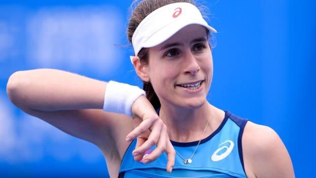 #tennis #news  Konta knocked out in China semi-final