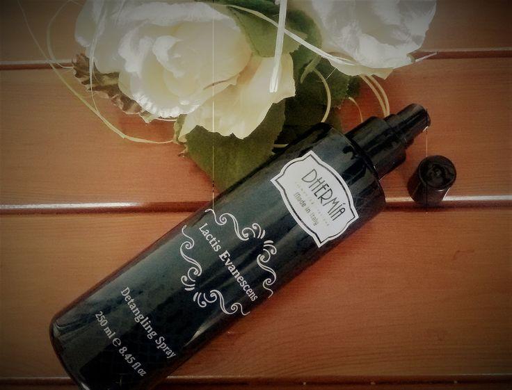 Lactis+Evanescens,+spray+districante+per+capelli+stressati
