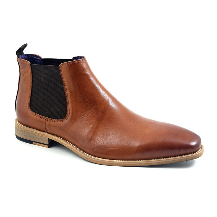 Shop tan chelsea boots for men who exude style. A relaxed tan chelsea for semi-formal or casual attire. Mens chelsea boots at £99.95 in navy, black and tan.