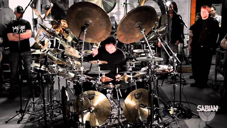 Terry Bozzio's All Cymbal Drum Set