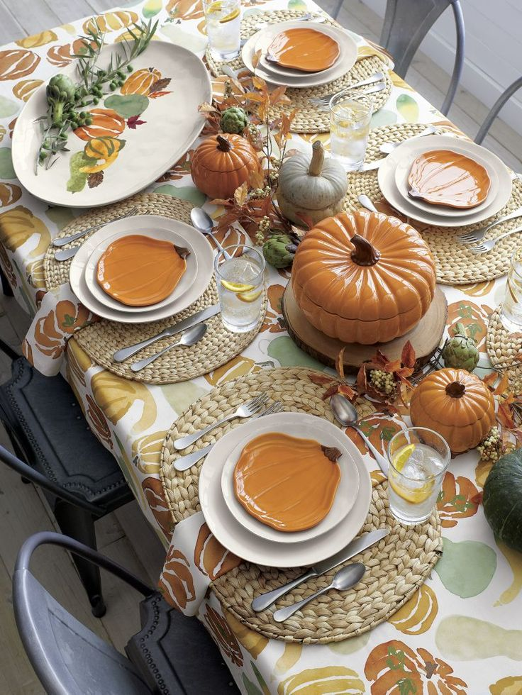 Oval Water Hyacinth Placemat Thanksgiving Table Fall