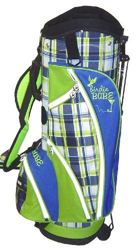 Birdie Babe Womens Ladies Golf Bag Stand Cart Blue Green Plaid at http://suliaszone.com/birdie-babe-womens-ladies-golf-bag-stand-cart-blue-green-plaid/