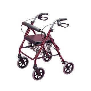 Noticias Ofertas y Oportunidades: Homecraft - Andador con frenos y 4 ruedas, color r...