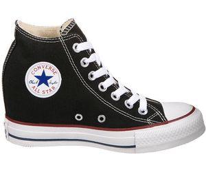 Direttamente dagli anni '90 la sneakers con zeppa interna è tornata alla ribalta in questo 2017. Un esempio? le Converse Chuck Taylor All Star Mid Lux su idealo.it, il tuo comparatore prezzi in Italia.