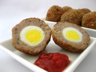 Huevos a la escocesa o Scotch eggs