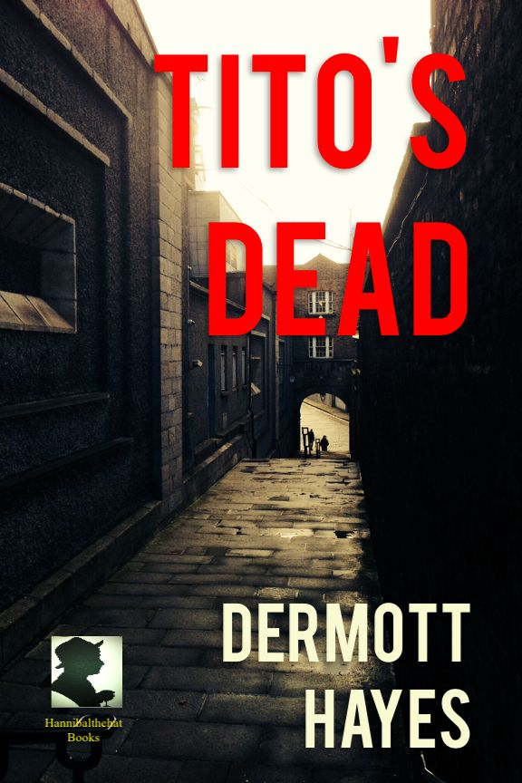 The final pieces of the puzzle...a dark, damp, alleyway...two mysterious figures...the message (and title) TITO'S DEAD, in red...the byline