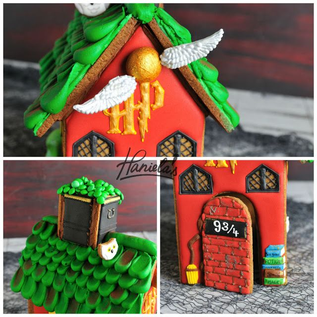 Haniela's: Harry Potter Gingerbread House