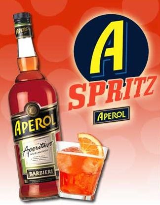 Aperol Poster for one of my favorite summer cocktails: The Aperol Spritz