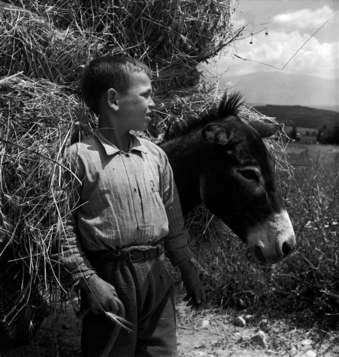 David Seymour.Κάπου στην Ελλάδα 1948